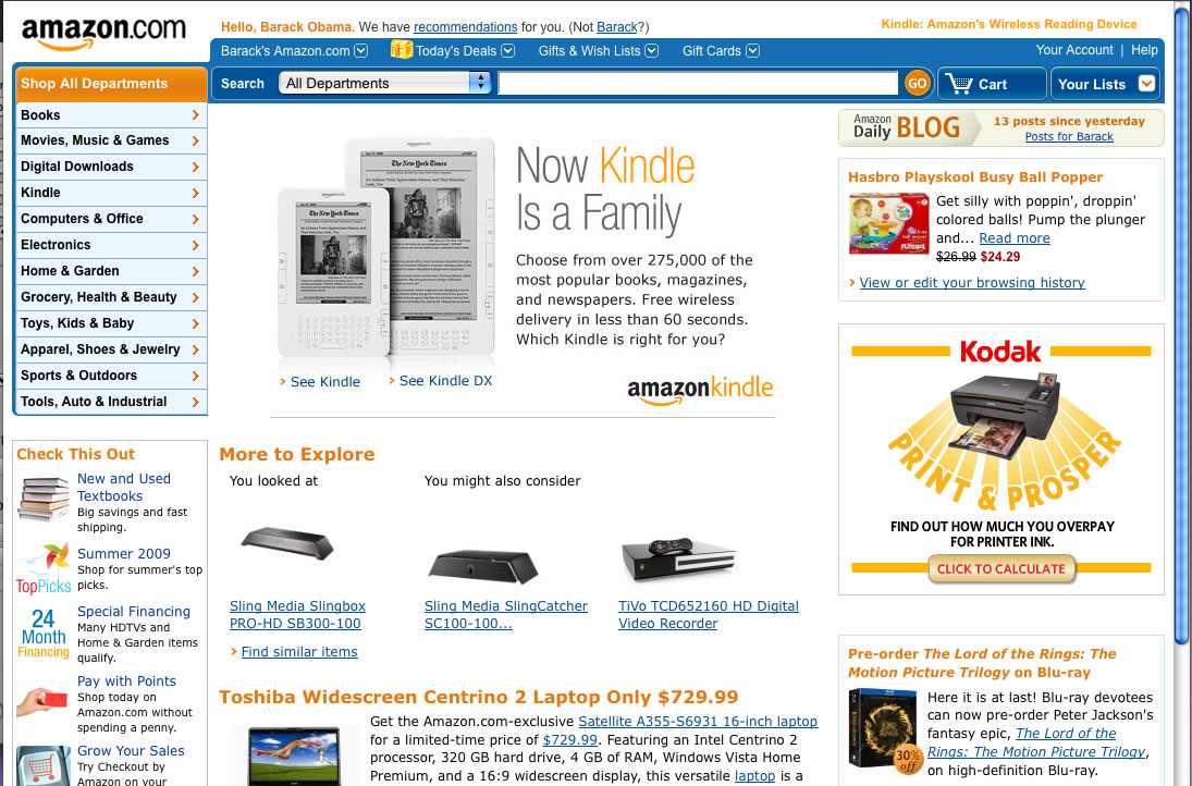 Steve Jobs\' Amazon account hacked? 20,000 items in 10 years ...